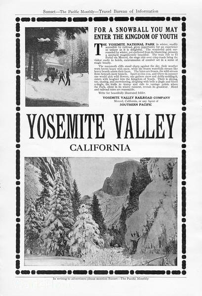 1912 Yosemite Valley Railroad