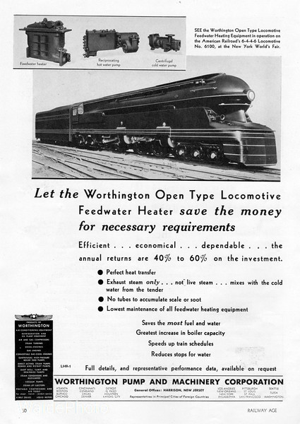 1939 Worthington Pump and Machinery Corporation.