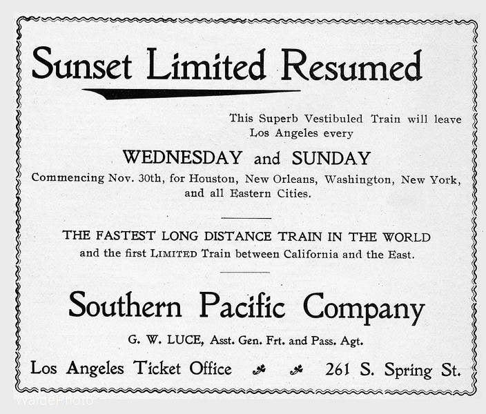1899 Southern Pacific Company