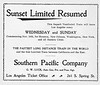 1899 Southern Pacific Company