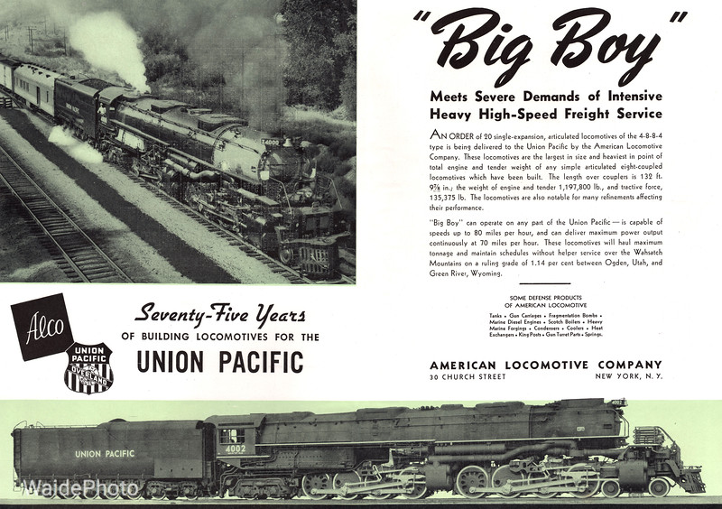 1941 Alco - Big Boy 3.