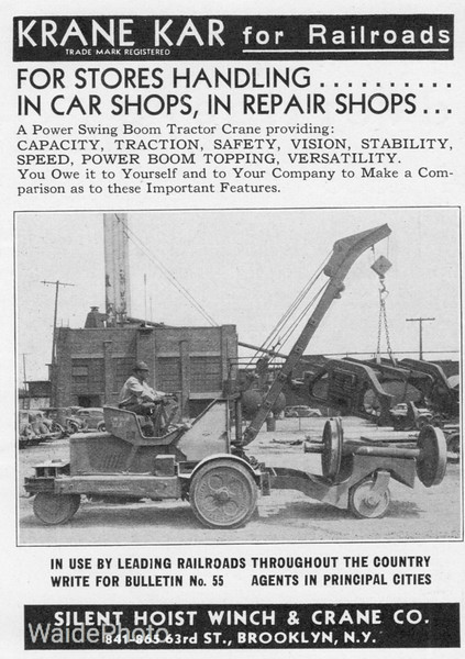 1939 Silent Hoist Winch & Crane Company.