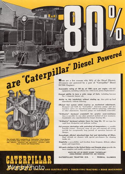 1941 Caterpillar Tractor Company.
