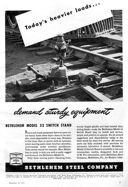 1941 Bethlehem Steel Company.