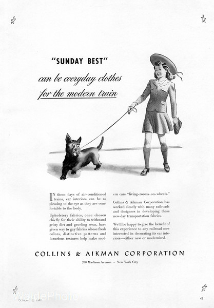 1941 Collins & Aikman Corporation.