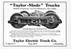 1913 Taylor Electric Truck Company.