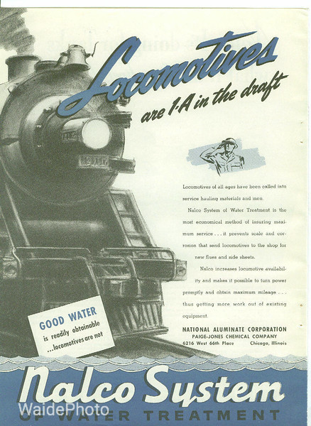 1940's National Aluminate Corporation.