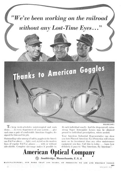 1941 American Optical Company.