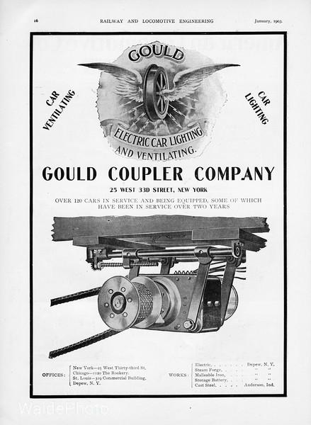 1903 Gould Coupler Company.