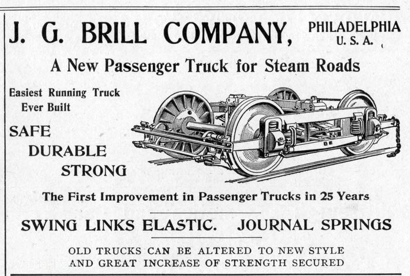 1900 J. G. Brill Company.