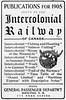 1905 Intercolonial Railway.