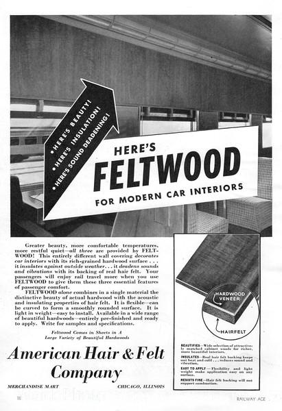 1941 American Hair & Felt Company.