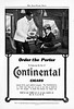 1903 Continental Cigars.
