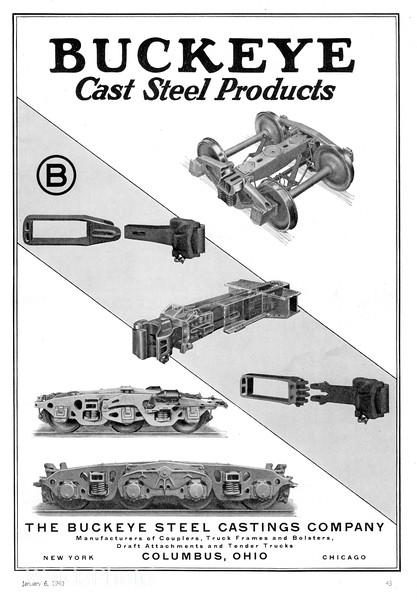 1940 Buckeye Steel Castings Company.