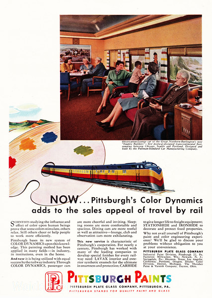 1947 Pittsburg Plate Glass Company.