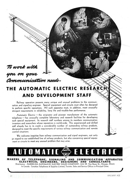 1941 Automatic Electric.