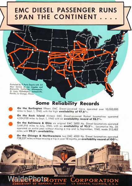 1941 Electro-Motive Corporation, General Motors - Geared Page 8 of 8.