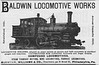 1893 Baldwin Locomotive Works.