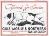 1931 Gulf, Mobile & Northern Railroad <br /> <br /> Traffic World magazine cover.