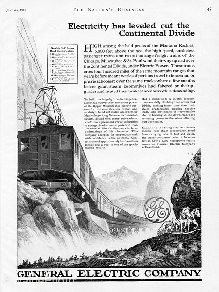 1918 General Electric.