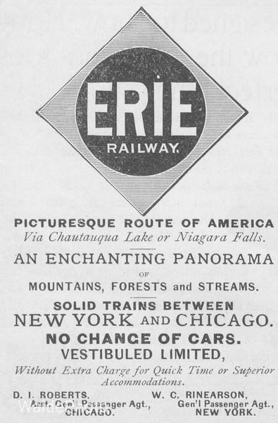 1891 Erie Raiway.