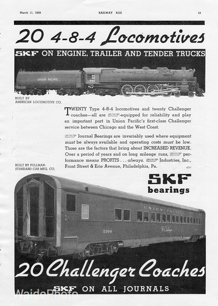 1939 SKF Industries.