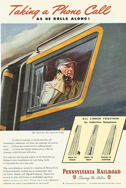 1940's Pennsylvania Railroad.