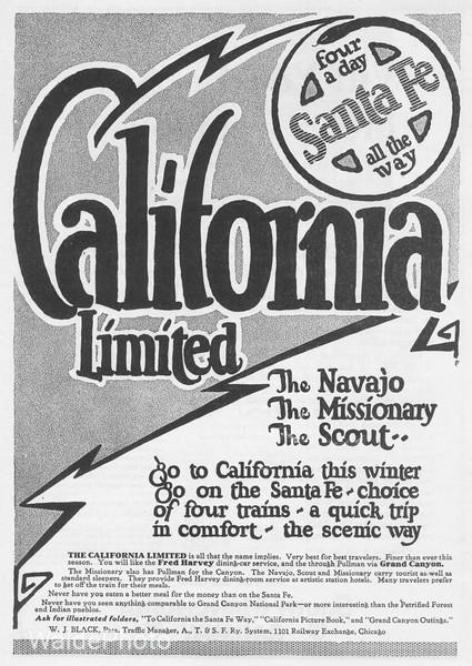 1921 Santa Fe.