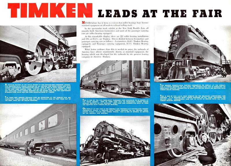 1939 Timken Roller Bearing Company - Page 4 & 5 of 7.
