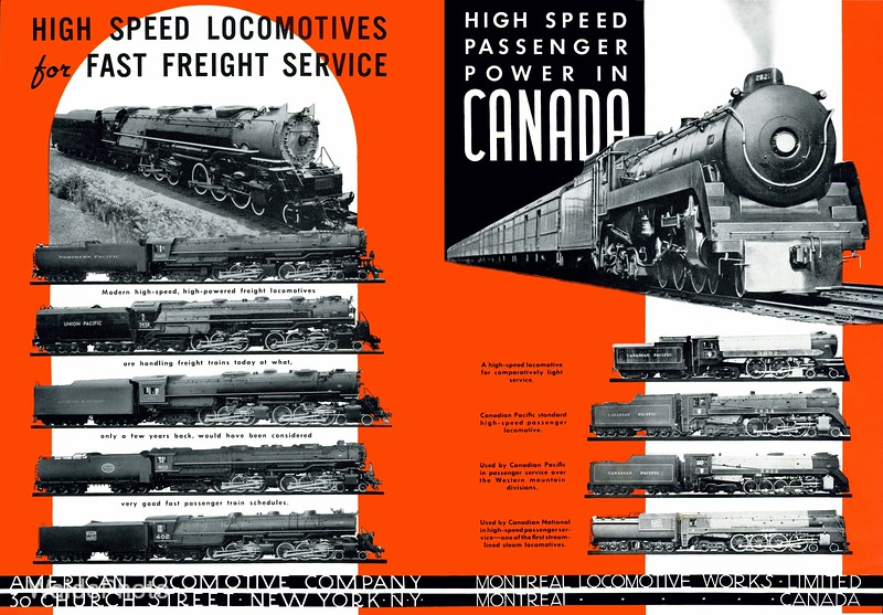 1940 Alco and Montreal Locomotive Works.