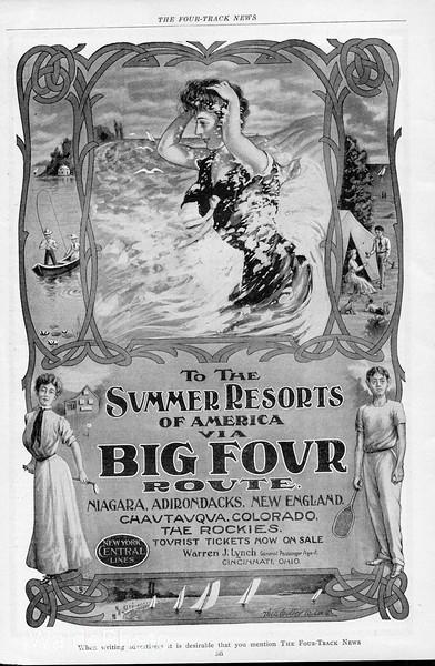 1905 Big Four Route.