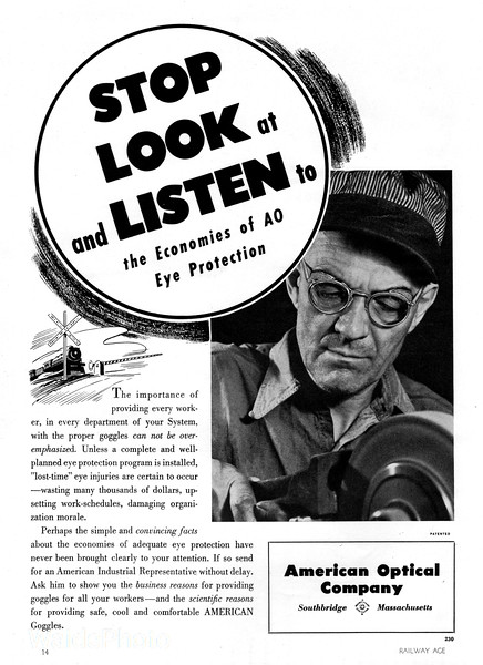 1941 American Optical Company.