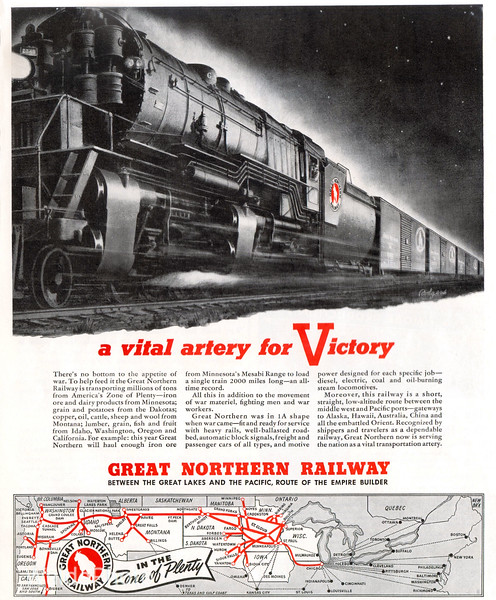 1940's Great Northern Railway.