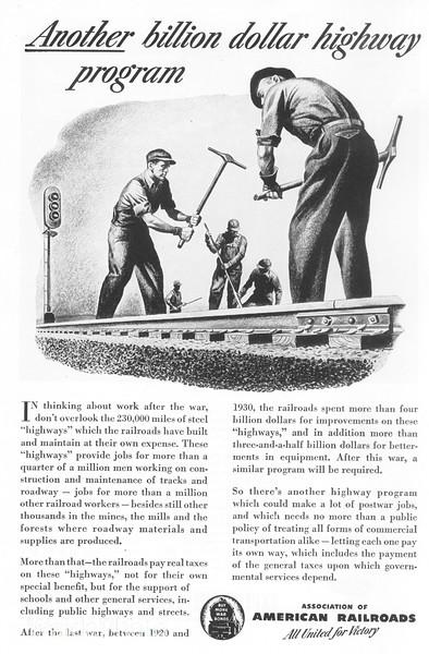 1940's Association of American Railroads.