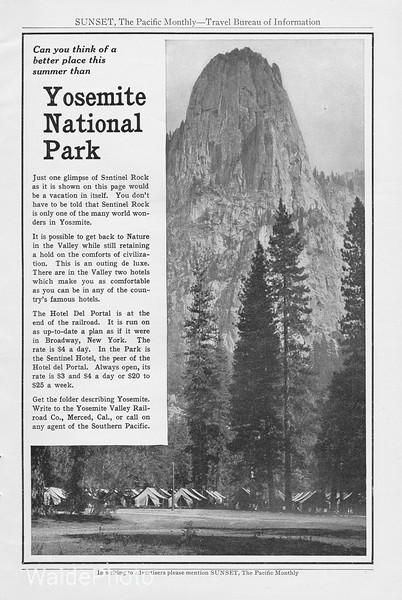 1912 Yosemite Railroad