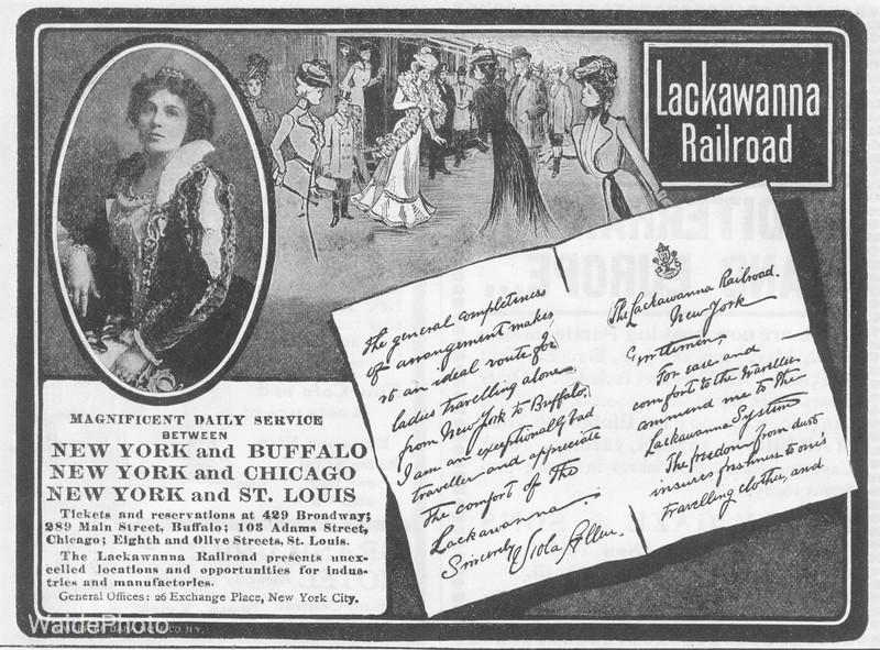 1901 Delaware, Lackawanna, & Western.