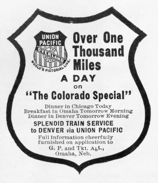 1903 Union Pacific.