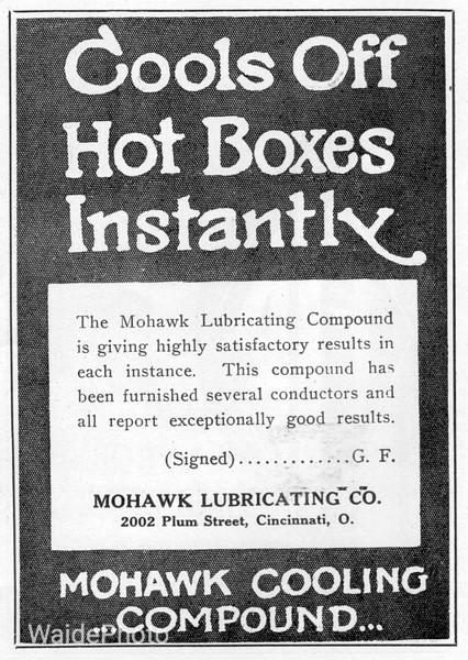 1922 Mohawk Lubricating Company.