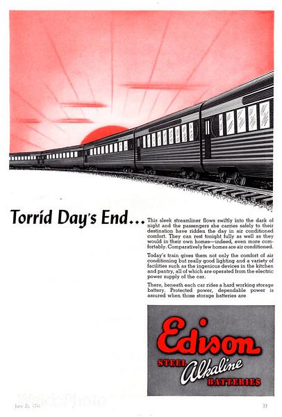 1941 Edison.