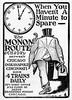 1900 Chicago, Indianapolis, & Nashville Railroad, Monon.