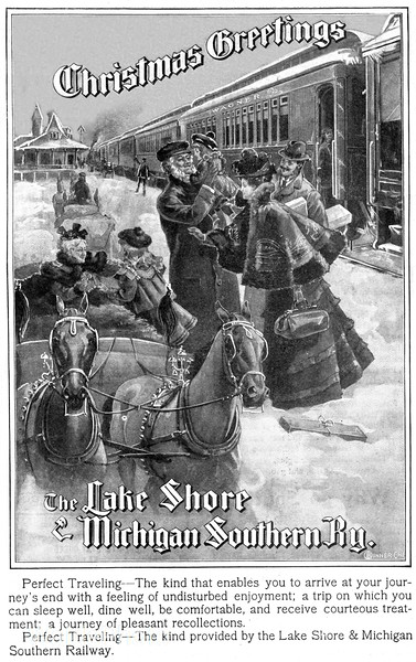 1890's Lake Shore & Michigan Southern.