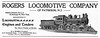 1899 Rogers Locomotive Company.