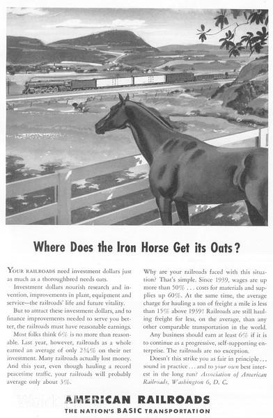 1940 Association of American Railroads.
