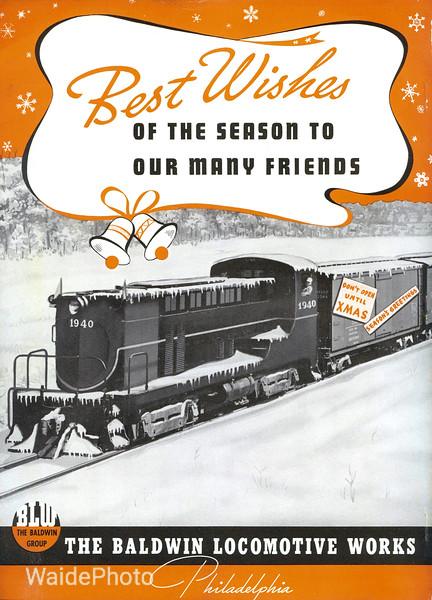 1940 Baldwin Locomotive Works.