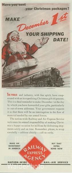 1940's Railway Express Agency.