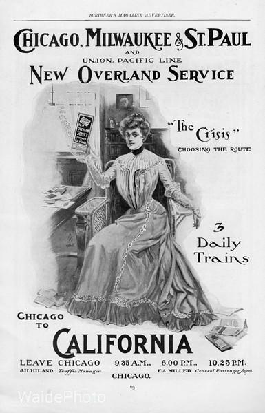 1892 Chicago, Milwaukee & St. Paul.