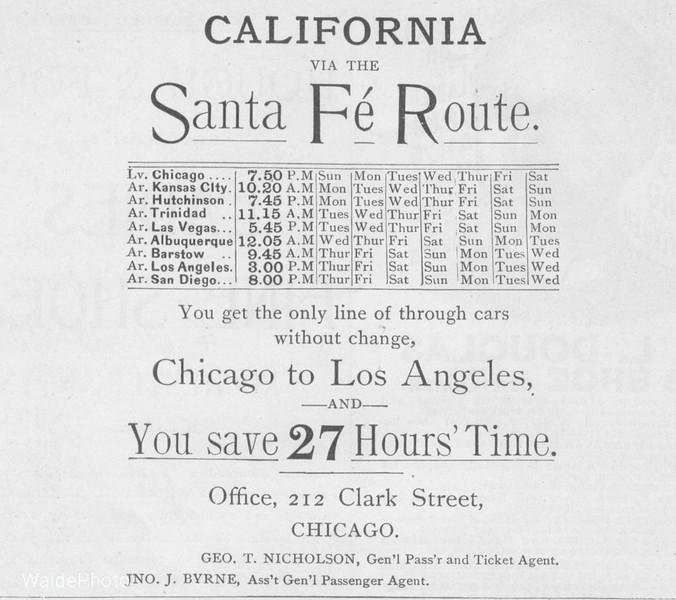 1891 Santa Fe.