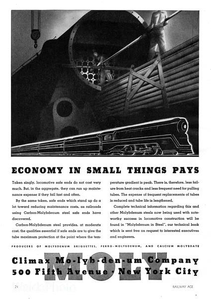 1941 Climax Molybdenum Company.
