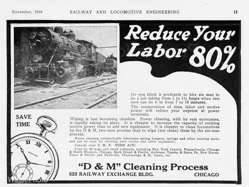 1919 D&M Cleaning Process.