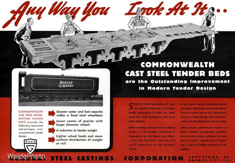 1941 General Steel Castings Corporation.